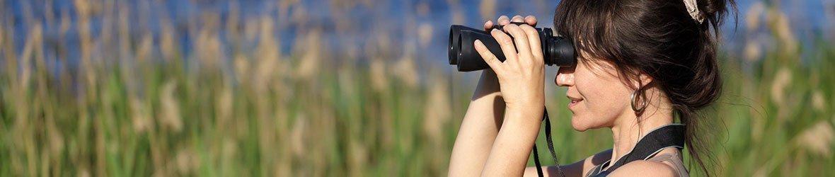 Mid-size binoculars