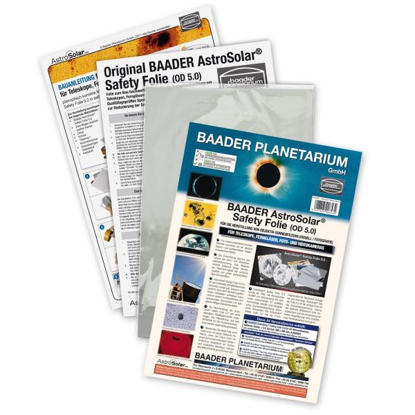 Baader AstroSolar Safety Film OD 5.0 (ECO-size, 20x29, 100x50, 117x117 cm)