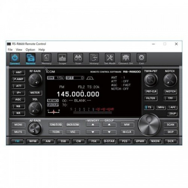 Icom RS-R8600 Control Software