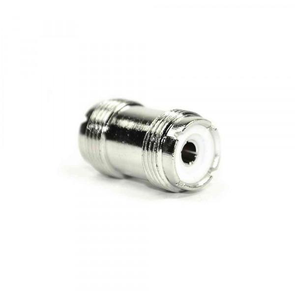 PL connector 2 x socket