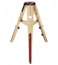 Geoptik Hercules 95 Wood Tripod Red