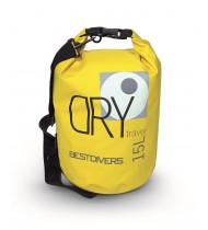 Best Divers PVC Dry Bag 15 L - Yellow