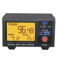 MFJ 849 Digital SWR/Power Meter HF/VHF/UHF 200W