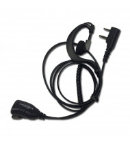 Proxel PJD-1302C Earphone Microphone Spiral 2Pin Kenwood